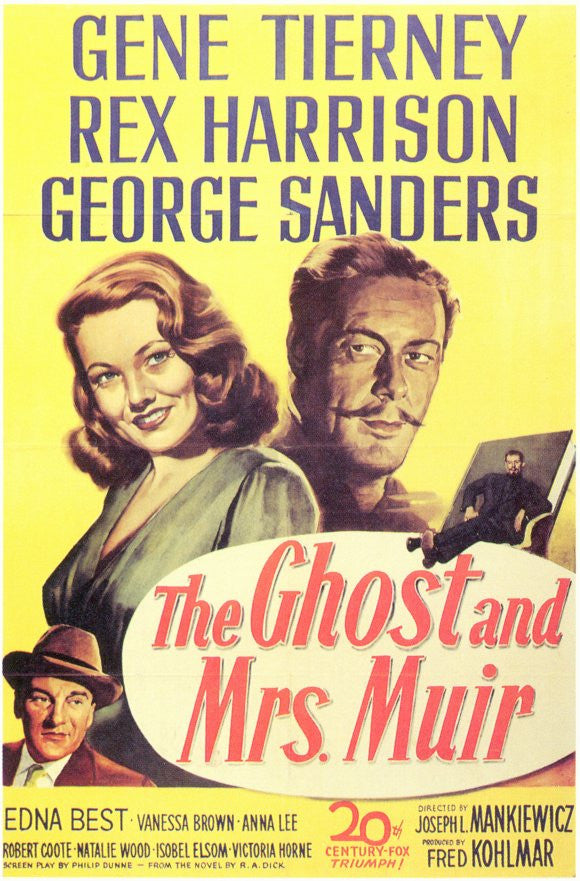 The Ghost And Mrs. Muir (1947) - Rex Harrison  DVD