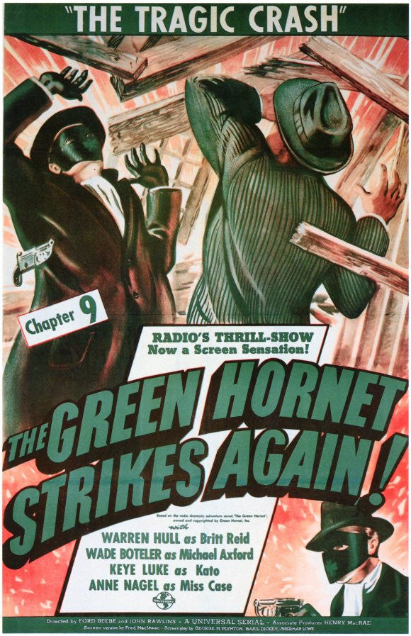 The Green Hornet Strikes Again (1941) - The Complete Serial