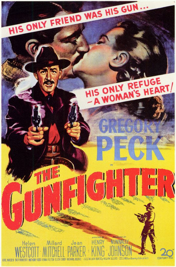The Gunfighter (1950) - Gregory Peck  DVD
