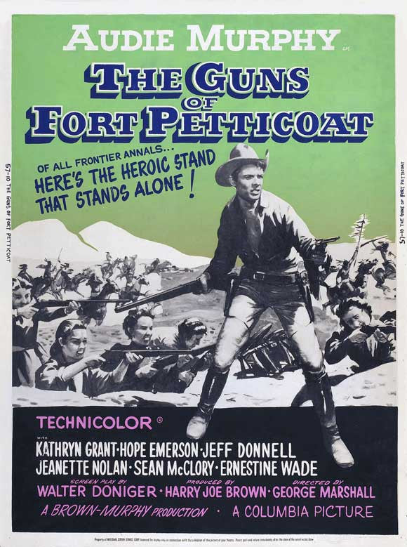 The Guns Of Fort Petticoat (1957) - Audie Murphy