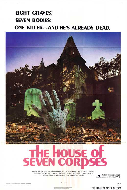 House Of The Seven Corpses (1974)  DVD