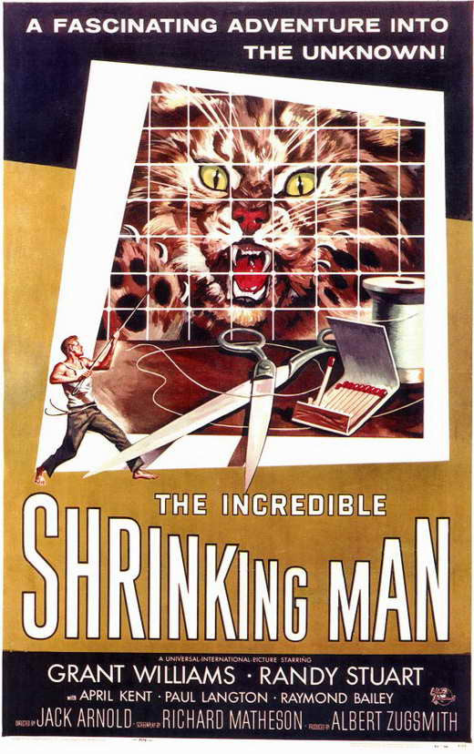 The Incredible Shrinking Man (1957) - Grant Williams  DVD