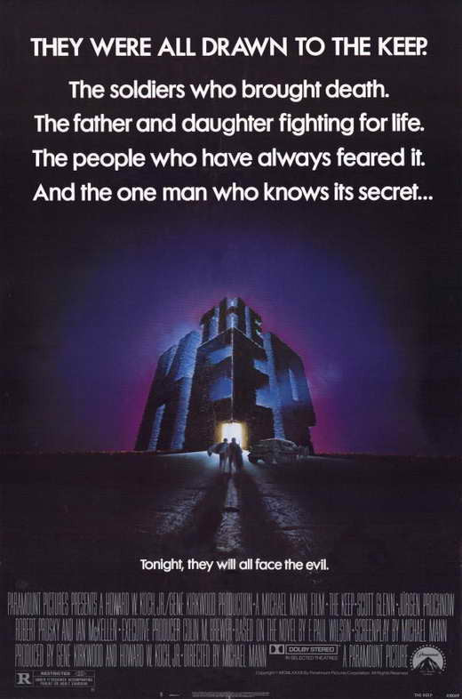 The Keep (1983) - Scott Glenn  DVD