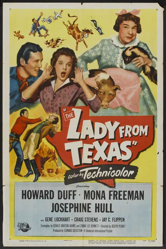 The Lady From Texas (1951) - Howard Duff  DVD