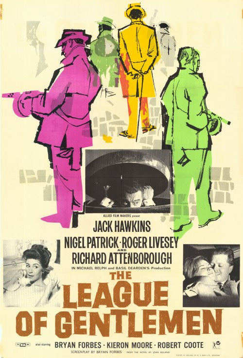 League Of Gentlemen (1960) - Richard Attenborough  DVD