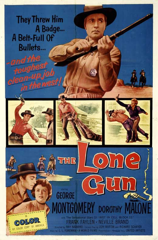 The Lone Gun (1954) - George Montgomery  DVD