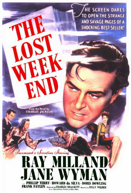 The Lost Weekend (1945) - Ray Milland  DVD