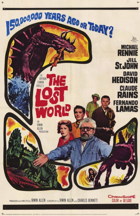 Lost World (1960) - Irwin Allen  DVD