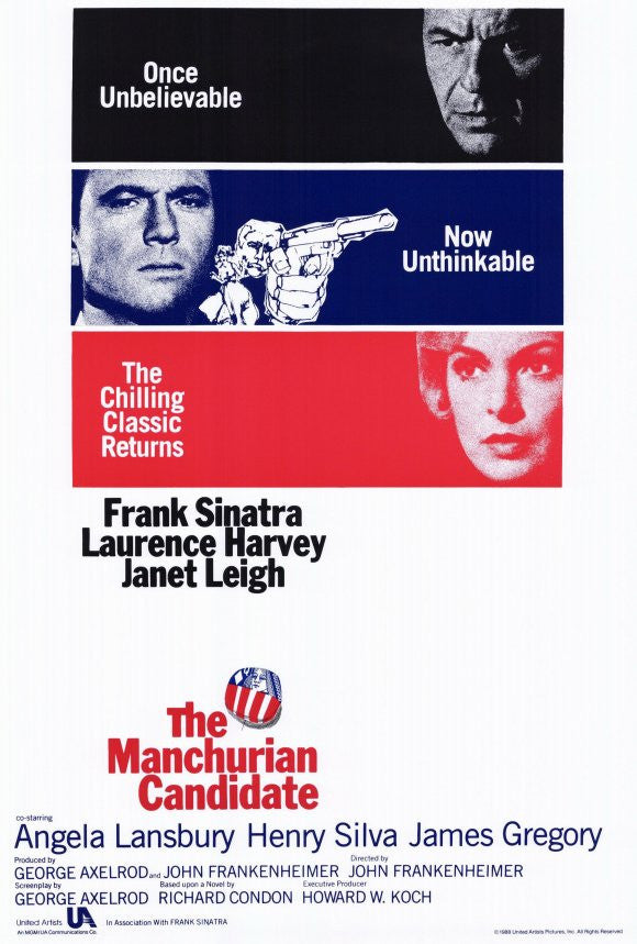 The Manchurian Candidate (1962) - Frank Sinatra  DVD
