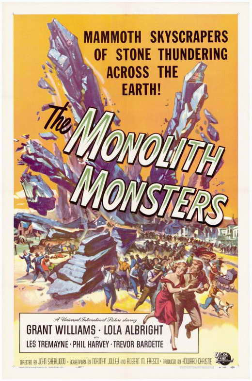 Monolith Monsters (1957) - Grant Williams  DVD