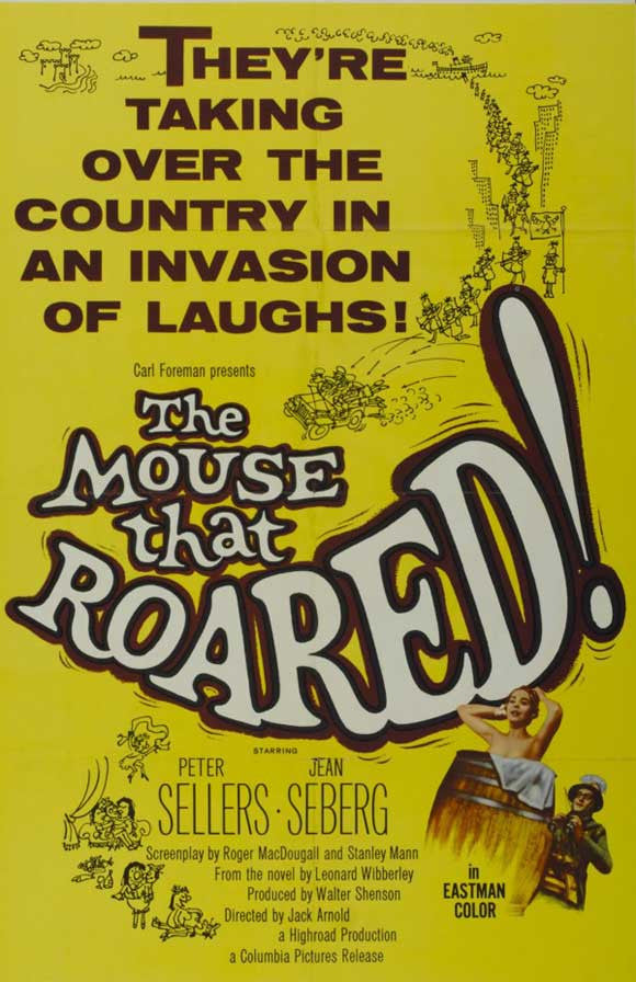 The Mouse That Roared (1959) - Peter Sellers  DVD