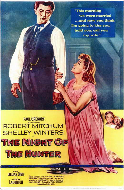 Night Of The Hunter (1955) - Robert Mitchum DVD