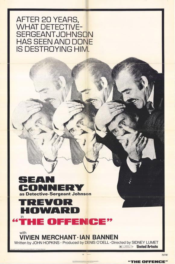 The Offence (1972) - Sean Connery  DVD