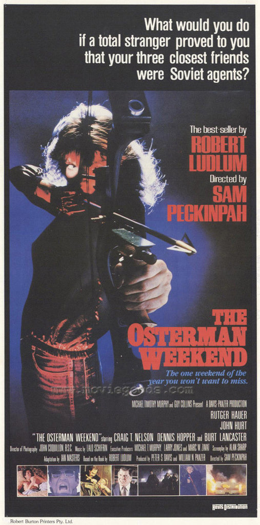 The Osterman Weekend (1983) - Sam Peckinpah DVD
