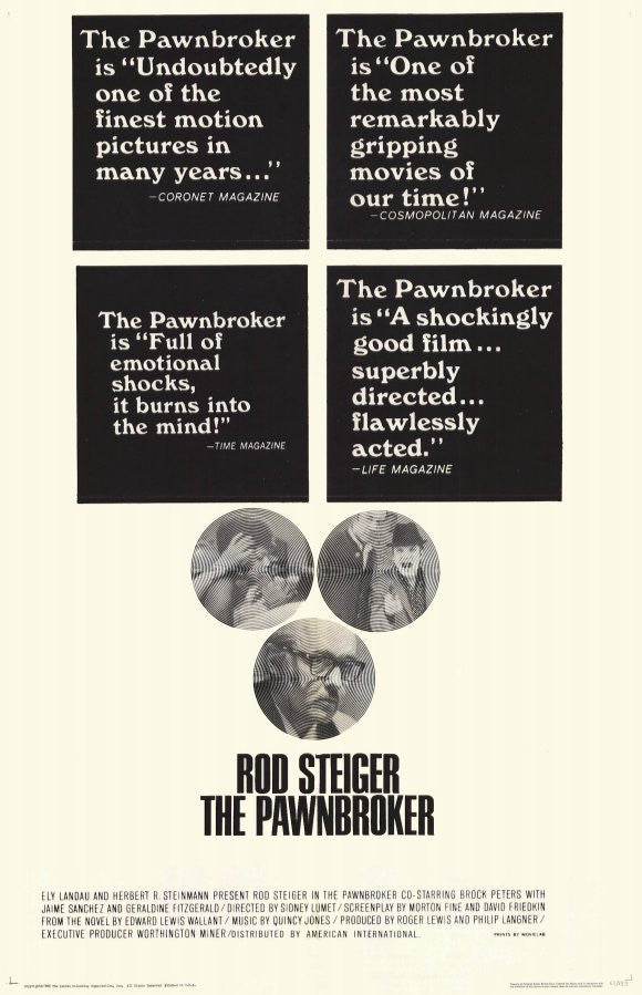 The Pawnbroker (1964) - Rod Steiger  DVD