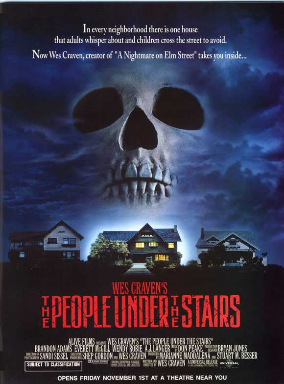 People Under The Stairs (1991) - Wes Craven  DVD