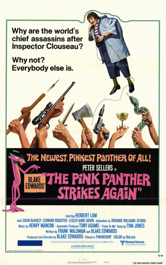 Pink Panther : The Pink Panther Strikes Again (1976)  DVD