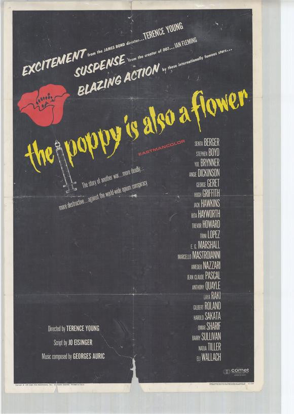 the poppy is also a flower 1966