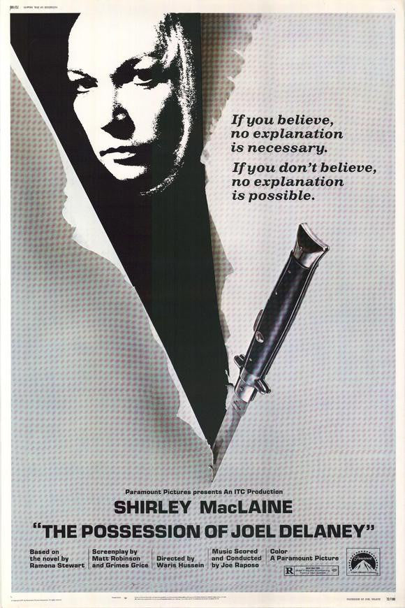 The Possession Of Joel Delaney (1972) - Shirley MacLaine  DVD