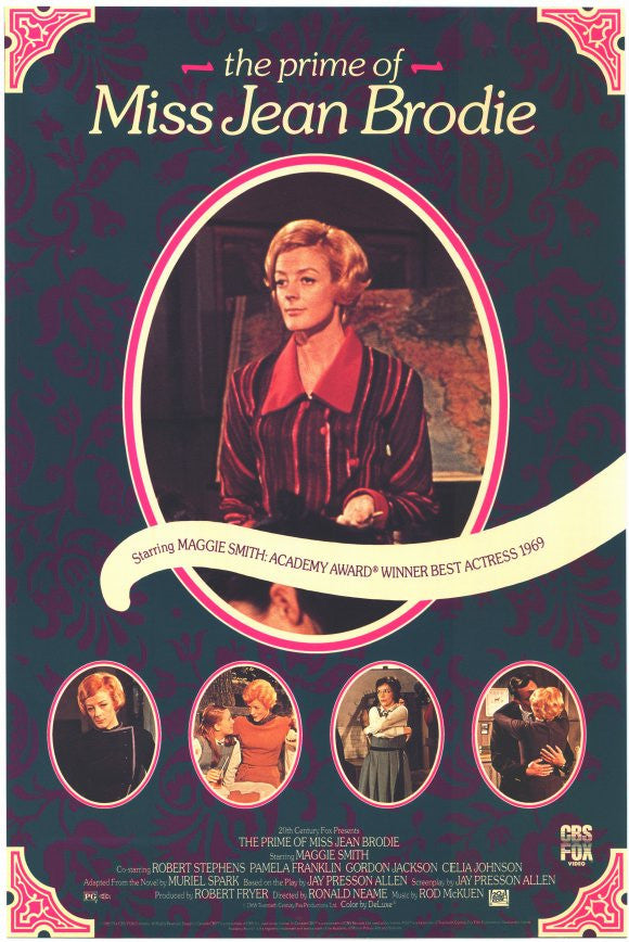 The Prime Of Miss Jean Brodie (1969) - Maggie Smith  DVD