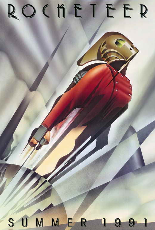 The Rocketeer (1991)  DVD