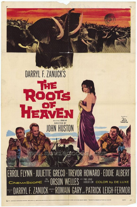 The Roots Of Heaven (1958) - Errol Flynn  DVD