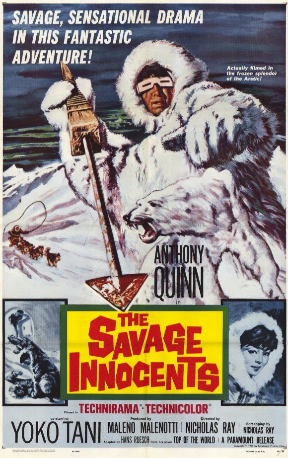 The Savage Innocents (1960) - Anthony Quinn  DVD