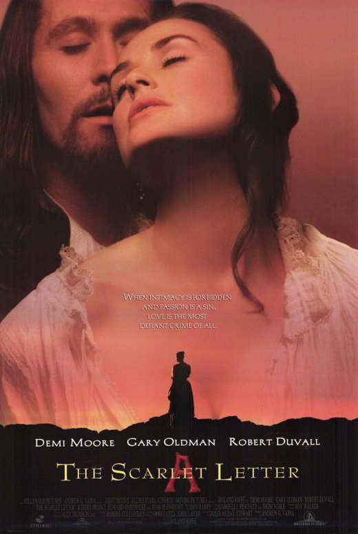 The Scarlet Letter (1995) - Demi Moore  DVD