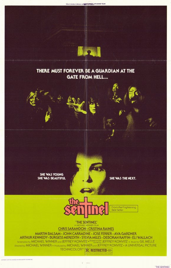 The Sentinel (1976) - Michael Winner  DVD