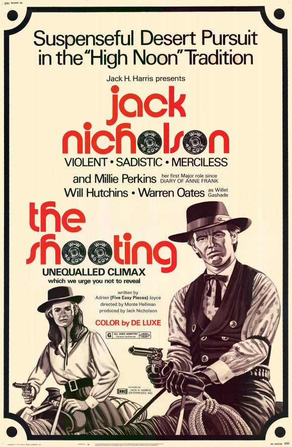 The Shooting (1966) - Jack Nicholson  DVD
