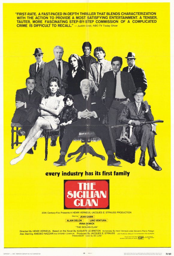 The Sicilian Clan (1969) - Alain Delon  DVD