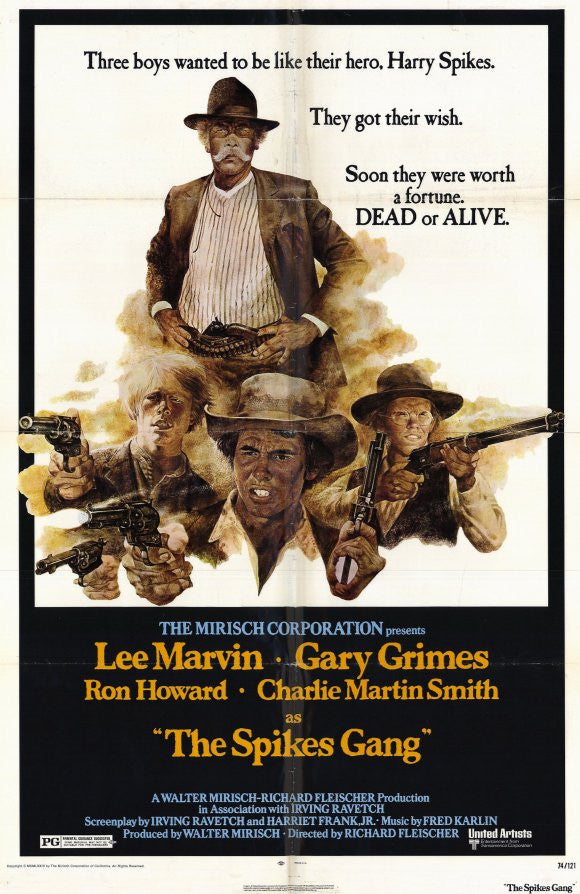 The Spikes Gang (1974) - Lee Marvin  DVD