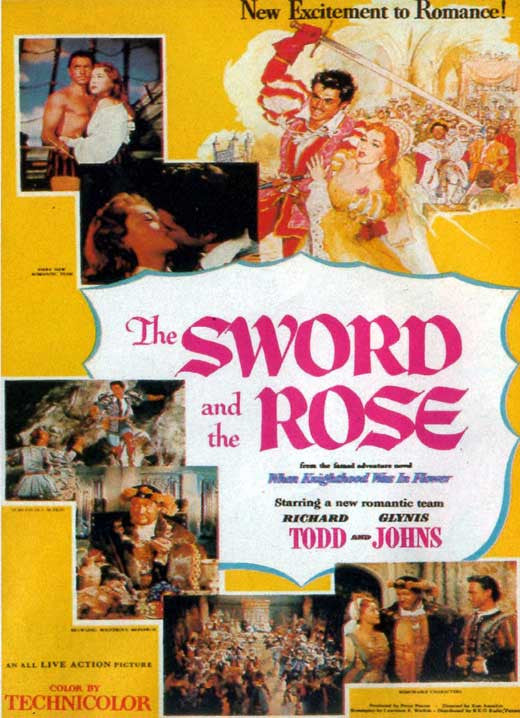 The Sword And The Rose (1953) - Richard Todd  DVD