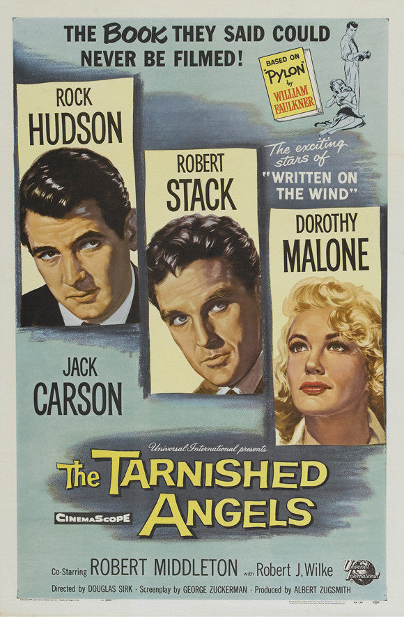 Tarnished Angels (1957) - Rock Hudson  DVD