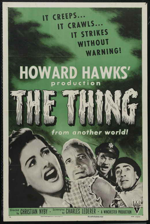 The Thing From Another World (1951) - Howard Hawks  DVD