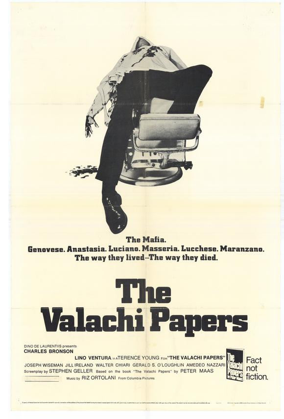 The Valachi Papers (1972) - Charles Bronson  DVD