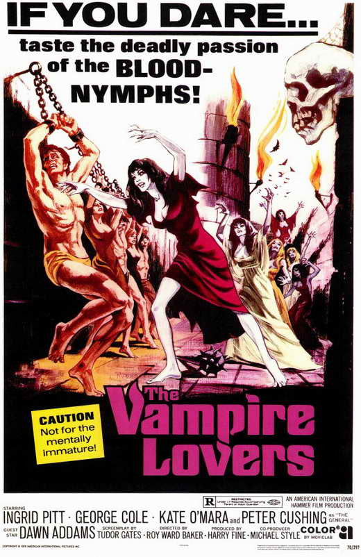 The Vampire Lovers (1970) - Peter Cushing  DVD