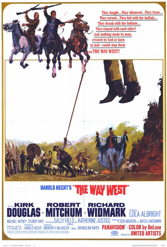 The Way West (1967) - Richard Widmark  DVD