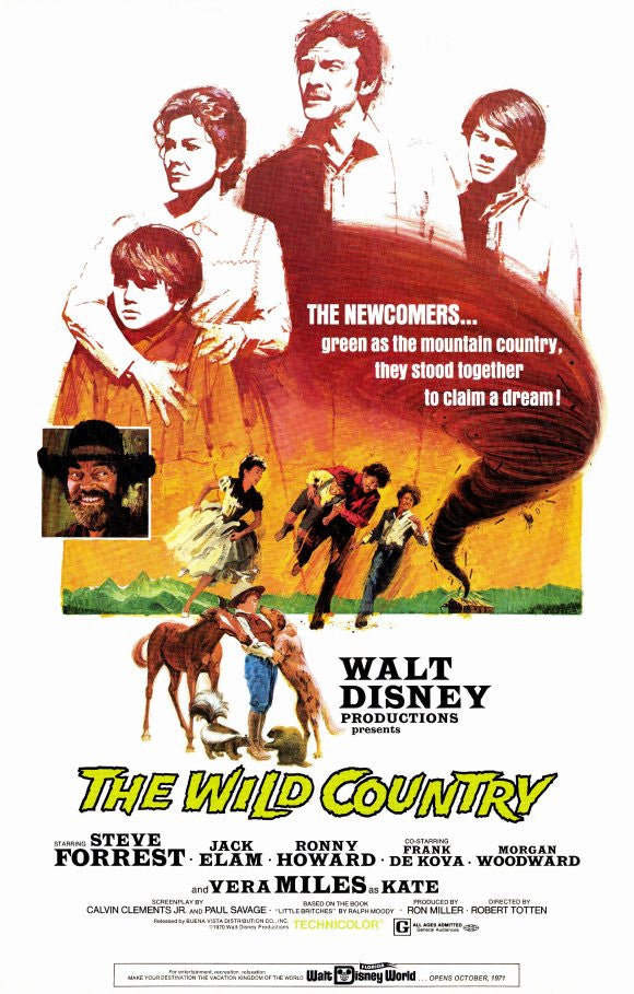 The Wild Country (1970) - Steve Forrest  DVD