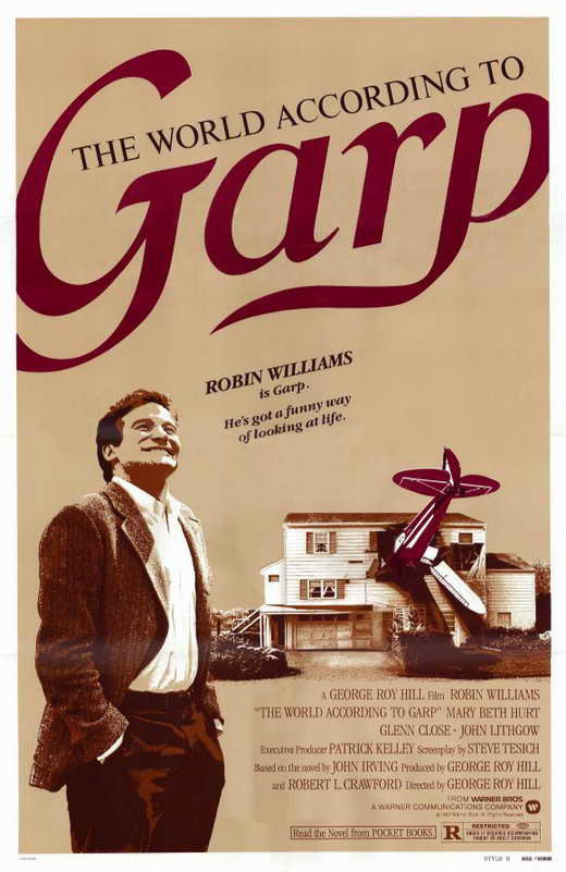 The World According To Garp (1982) - Robin Williams  DVD