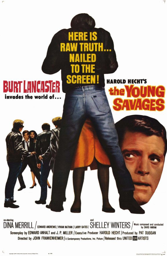 The Young Savages (1961) - Burt Lancaster  DVD