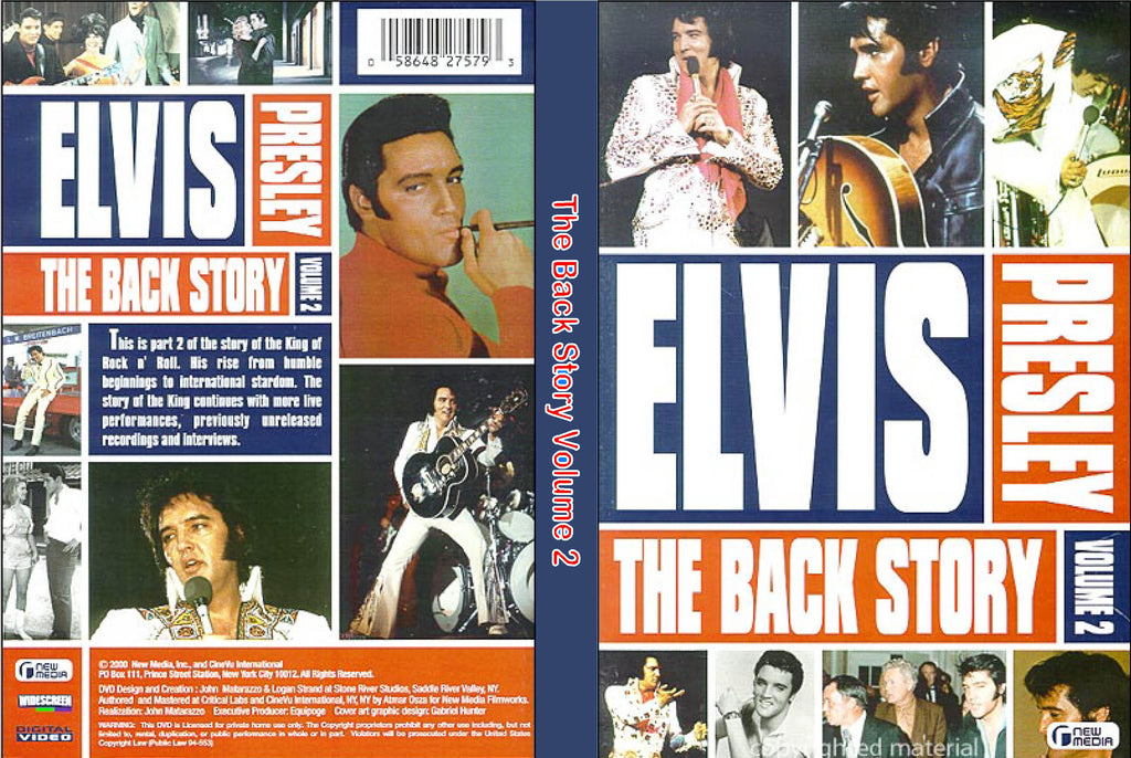Elvis - The Back Story Vol.2  DVD