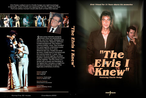 Charlie Hodge - The Elvis I Knew DVD