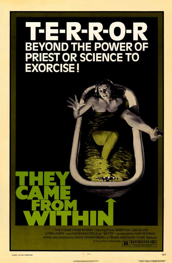 They Came From Within (1975) - David Cronenberg  DVD