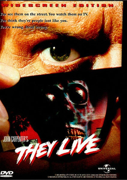 They Live (1988) - John Carpenter  DVD