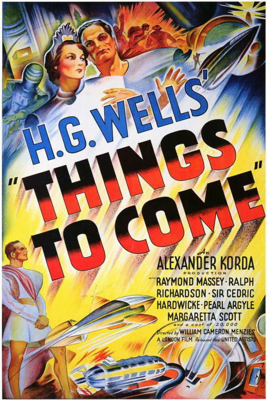 Things To Come (1936) - Raymond Massey  DVD
