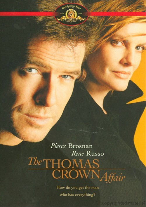 The Thomas Crown Affair (1999) - Pierce Brosnan  DVD