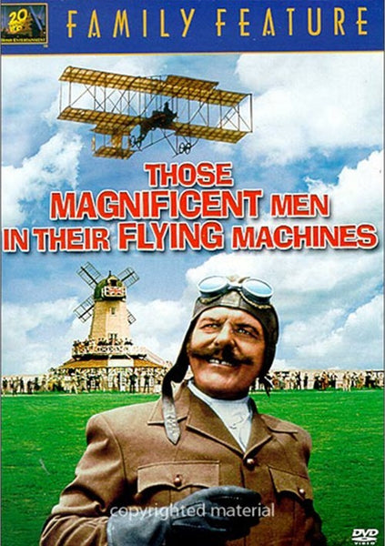 Those Magnificent Men In Their Flying Machines (1965)  DVD