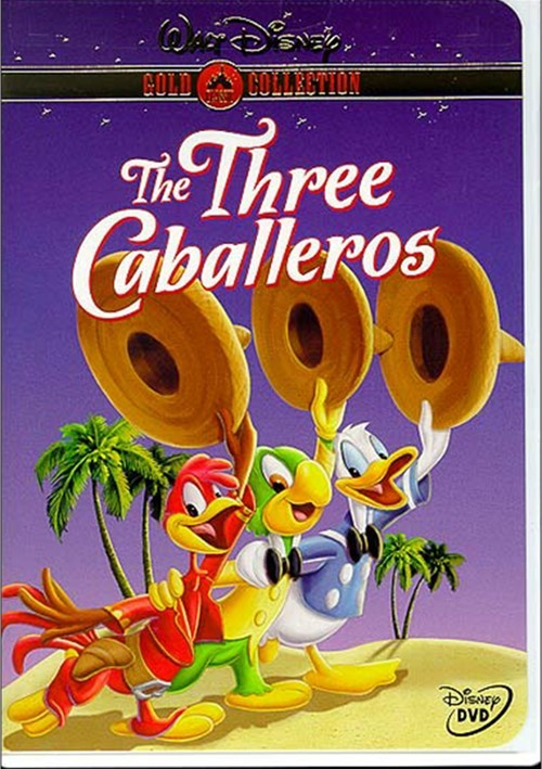 The Three Caballeros : Gold Collection (1945) DVD