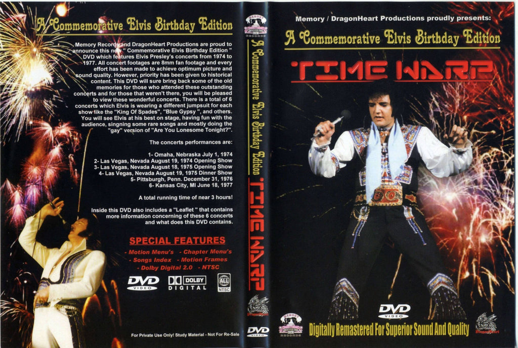 Elvis - Time Warp  DVD
